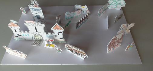 Feudo/Fief – diorama